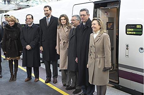Inauguración AVE entre Albacete, Cuenca y Toledo